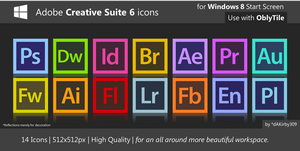 HQ Adobe CS6 Icons by dAKirby309