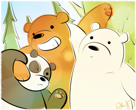 We Bare Bears by ccucco