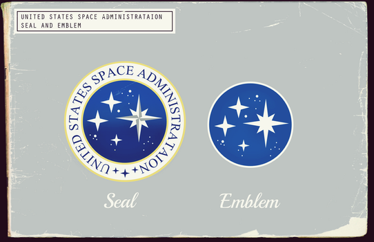 USSA Seal and Emblem (Fallout) by KingWillhamII