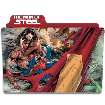 The Man Of Steel Variant 2 by DCTrad