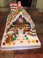 Gingerbread House by Forestfire2