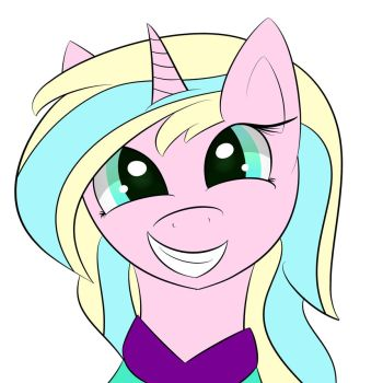 Grinning Pony by SuperMiniMicro