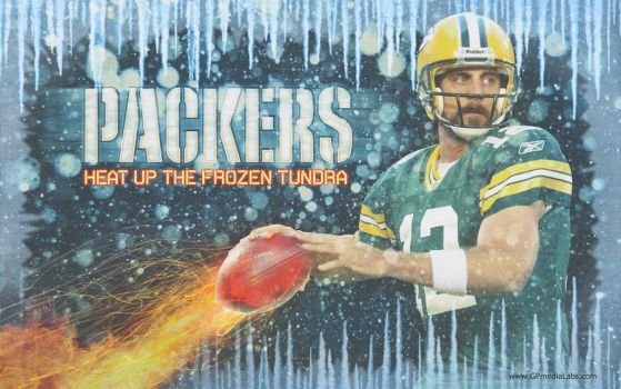 Packers Wall Rodgers Tundra by gp-media-labs