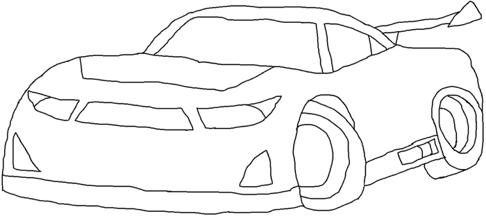 Cars 3 Next Gen Racer SA Type Template by NaruHinaFanatic