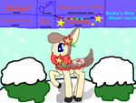 Rocky's Fairy Flower Ranch Rudolph by rockythebunny13