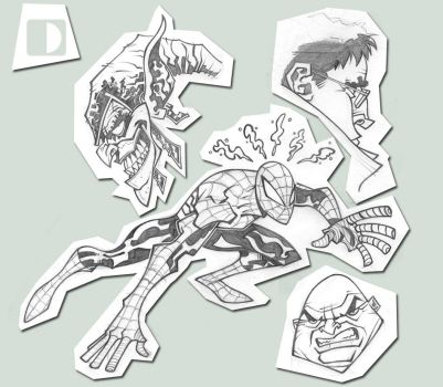Spidey concepts by spundman