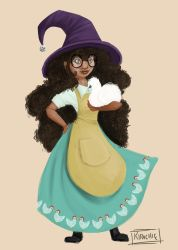 Mimi the Chicken Witch by Kipadoodle