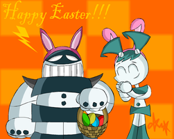 Easter robot by gagaman92