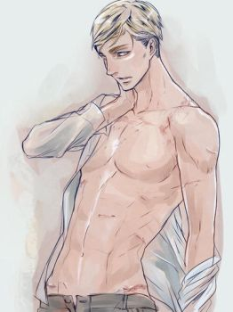 Commander Handsome (Erwin Smith) by 50shadesofsparkle327