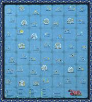 The Wind Waker Full Sea Chart (Very large Scale) by zantaff