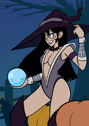 Octoberwitchjess by Crave-The-Bullet
