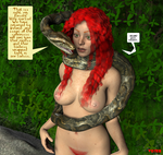 Hypno-Snake and Irish Lass by hypnovoyer