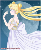 Princess Serenity by StarMVenus