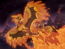 The Fire Lord by neondragon