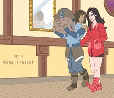 Korrasami Week 2016 - Day 4: Moving In Together by Phi8