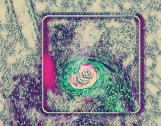 Cyclone Abstract by PoisonousPastels