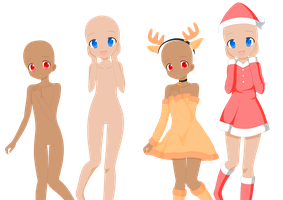 204: Christmas Girl Base Edit :Hope-Bases-X3: by CLGbases on ...
