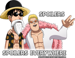 One Piece - Spoilers, spoilers everywhere (V2) by SergiART