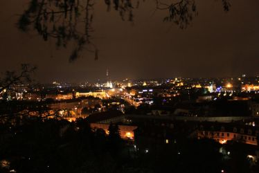 Prag at Night by TheLittelWorld