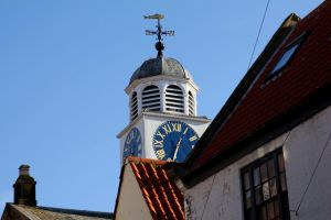 Whitby: Church with Clock by LoveForDetails