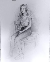Figure study by bloajd