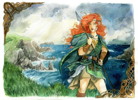 - COMMISSION - The Irish Maiden - by ooneithoo