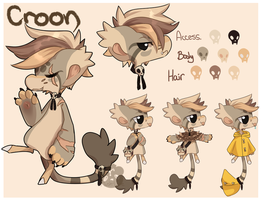 Croon BB Ref by Plush-Lore