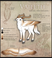 Vaileth Reference Sheet by TrelDaWolf