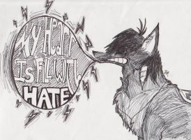 MyHeartIsFilledWithHate by GutterTeeth