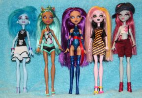 OOAK Monster High doll customs by rainbow1977