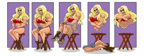 The Invisible Woman Part 1 by johnnyharadrim