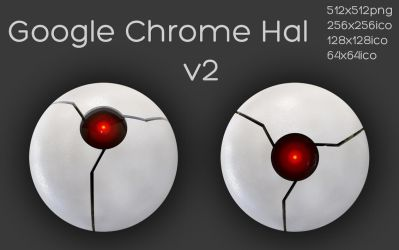 Google Chrome Hal version 2 by xylomon