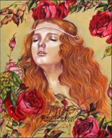 Roses Among Thorns by Katerina-Art