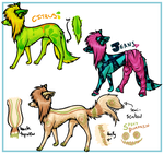 Scenedog adoptables No. 3 by EdibleAdoptables