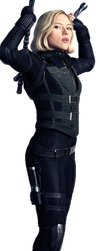 Infinity War Black Widow 2 - PNG by Captain-Kingsman16