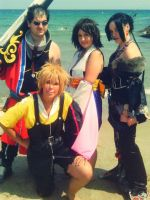 Photoshoot Final Fantasy X by IsilielCosplay