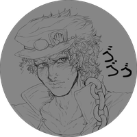 A PIN WITH JOTARO TOO?? WHY NOT by Kaeks