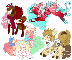 ~Valentine Species Collab Auction *CLOSED*~ by xSaikoMaikox