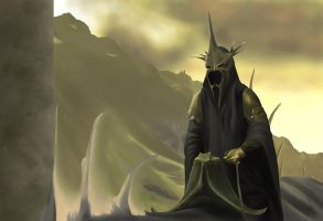 Lord of the Nazgul by soulturtle