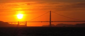Golden Gate Sunset no.1 by soffl