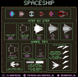 How to draw a Spaceship - A pixel art tutorial by SadfaceRL