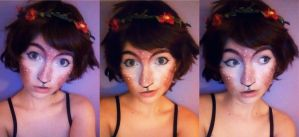 Faun Makeup by StrawberrySunflowers