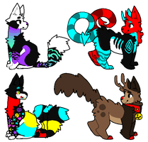 Feral Adopts [AUCTION, Open] by Twerkzone