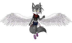 PC AngelFeather13 by KeyaraHedgehog09
