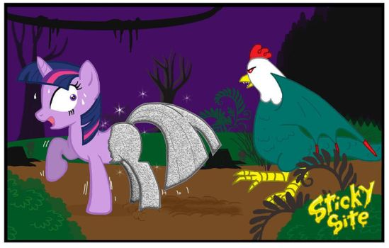 Twilight and cockatice by yomerome