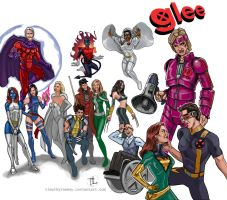 X-Men Glee Mash-Up by timothylaskey