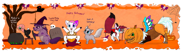 WN : Halloween by HoppityandBee