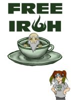 Iroh's Army - t-shirt design by elfgrove