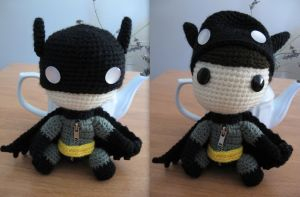 Batman Sackboy by anjelicimp