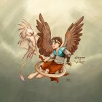 Gizmo and Widget C O L O R E D by CleverFoxImages